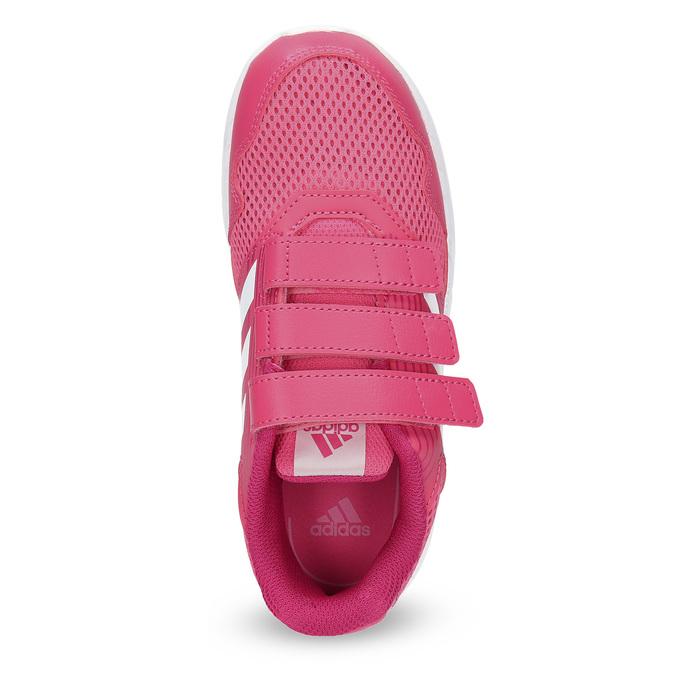 Růžové tenisky na suché zipy adidas, růžová, 309-5148 - 17