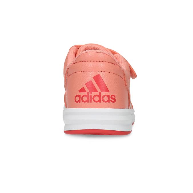 Dětské tenisky v lososové barvě adidas, růžová, 301-5151 - 15