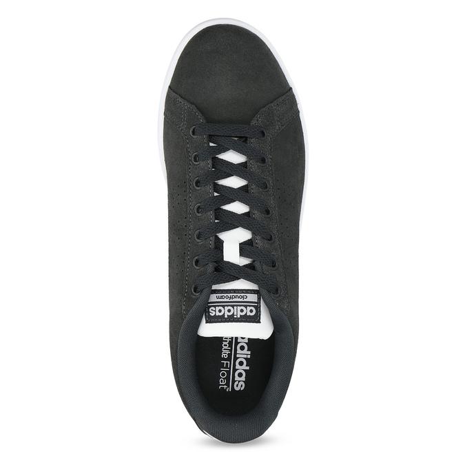 Ležérní tenisky z broušené kůže adidas, černá, 803-6394 - 17