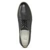 Kožené dámské polobotky bata, černá, 526-6650 - 17