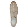 Kožené dámské polobotky bata, béžová, 526-8650 - 17