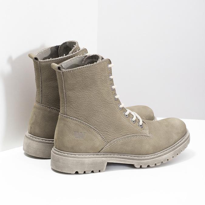 Dámská kotníčková obuv weinbrenner, béžová, 596-8693 - 16
