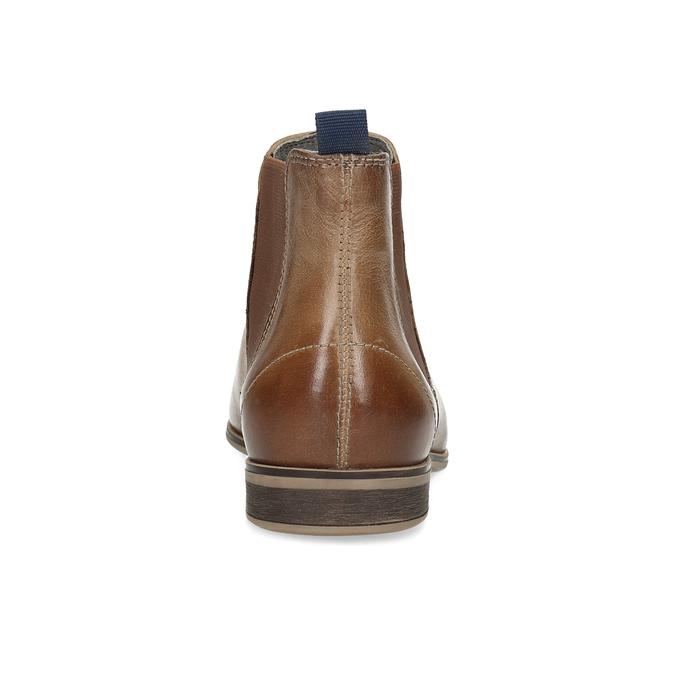 Dámská kožená Chelsea obuv bata, hnědá, 596-3684 - 15