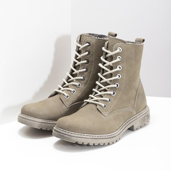 Dámská kotníčková obuv weinbrenner, béžová, 596-8693 - 26