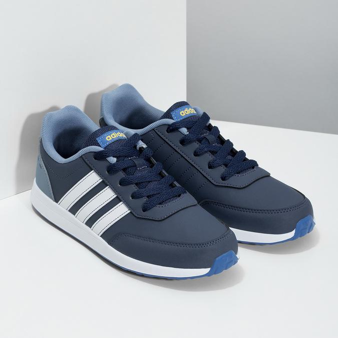 Modré dětské tenisky adidas, modrá, 401-9181 - 26