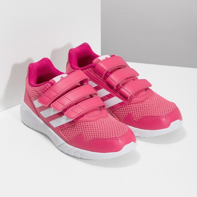 Růžové tenisky na suché zipy adidas, růžová, 309-5148 - 26