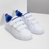 Bílé dětské tenisky na suché zipy adidas, bílá, 301-1968 - 26
