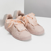 Růžové tenisky se saténovou mašlí pepe-jeans, růžová, 541-5076 - 26