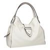 Bílá kabelka s přezkou bata, bílá, 961-1681 - 13