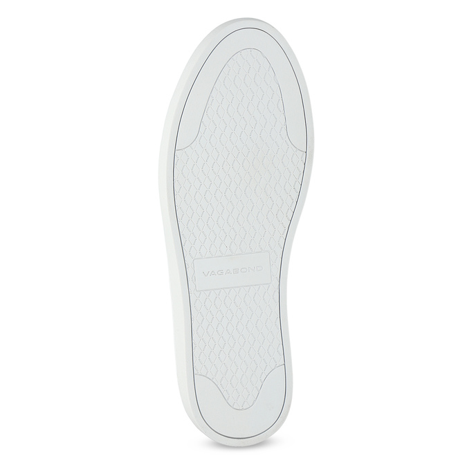 Bílé kožené tenisky dámské vagabond, bílá, 624-1019 - 18
