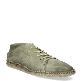Pánské kožené Desert Boots a-s-98, zelená, 826-7002 - 13
