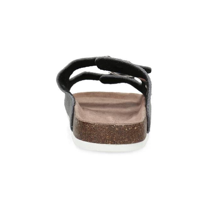 Pánská domácí obuv de-fonseca, šedá, 873-2610 - 15
