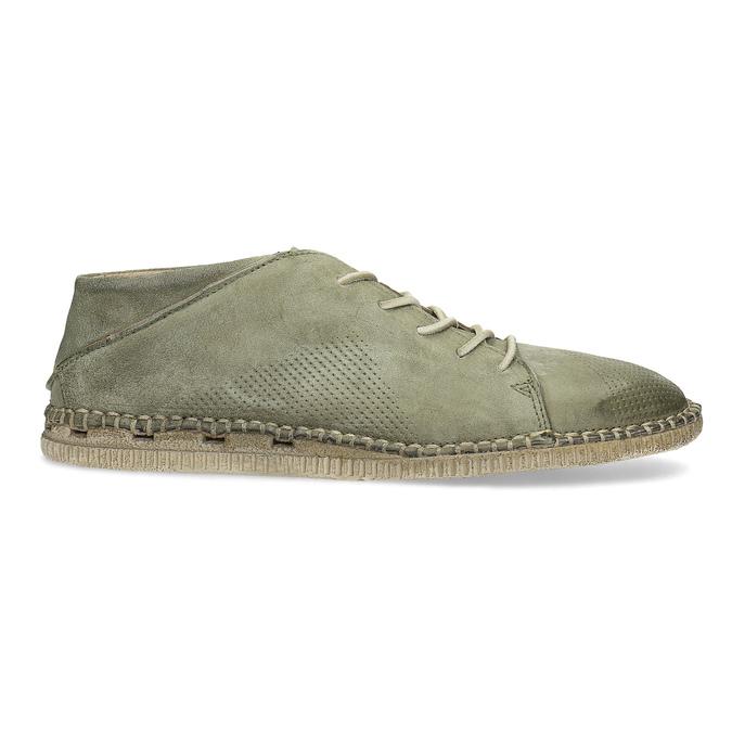 Pánské kožené Desert Boots a-s-98, khaki, 826-7002 - 19