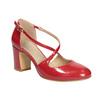 Lakované dámské lodičky insolia, červená, 721-5611 - 13