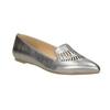 Dámská kožená obuv s perforací bata, 526-1659 - 13