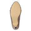 Béžové lodičky na zkoseném podpatku insolia, 629-8634 - 19