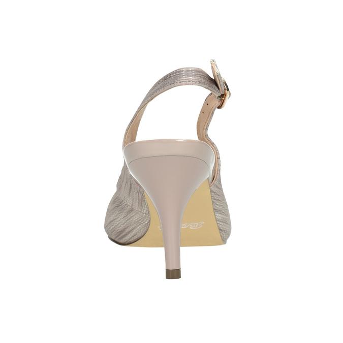 Lodičky typu Sling-back s lesklou špicí insolia, 621-2604 - 15