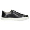 Pánské kožené tenisky bata, černá, 844-6648 - 19