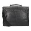 Kožená pánská aktovka bata, černá, 964-6289 - 16