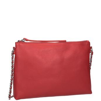 Červená Crossbody kabelka s řetízkem bata, červená, 964-5292 - 13