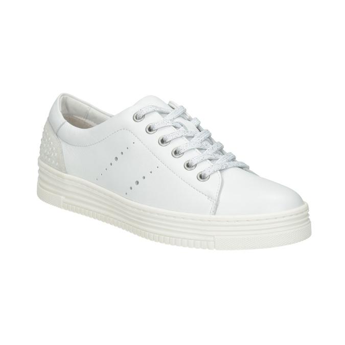 Baťa Dámské kožené ležérní tenisky - Všechny boty  3275f8ba31