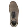 Pánská kožená kotníčková obuv bata, hnědá, 823-8629 - 17