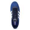Modré tenisky z broušené kůže adidas, modrá, 803-9979 - 17