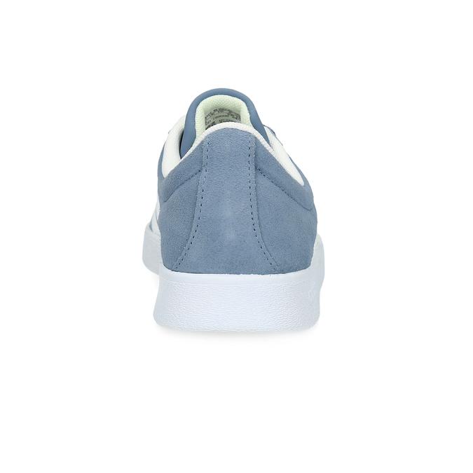 Tenisky z modré broušené kůže adidas, modrá, 503-2379 - 15