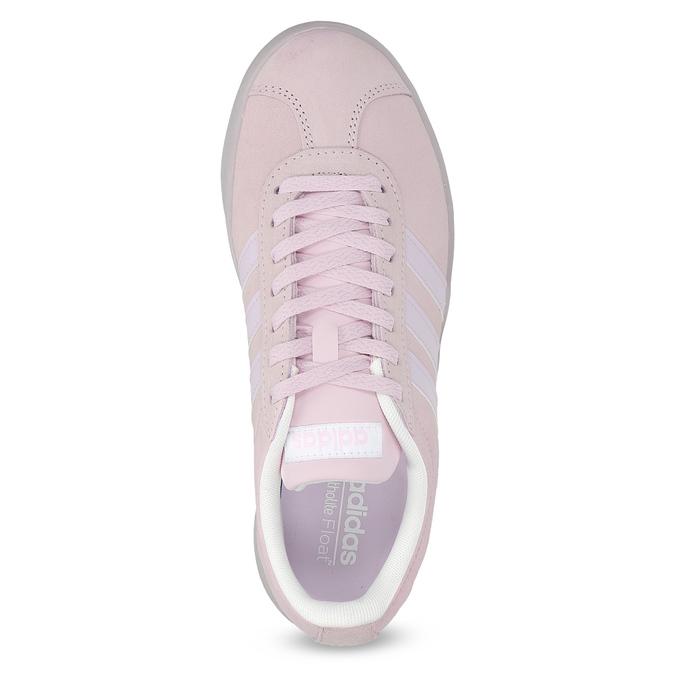 Růžové tenisky z broušené kůže adidas, růžová, 503-5579 - 17