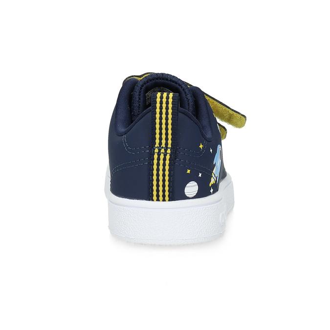 Dětské modré tenisky na suché zipy adidas, modrá, 101-9129 - 15
