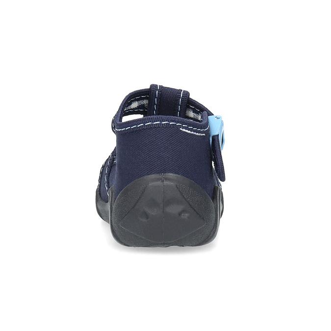 Chlapecká domácí obuv modrá mini-b, modrá, 179-9601 - 15