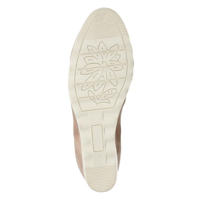 Lodičky na klínovém podpatku bata, 629-5636 - 19