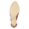Červené kožené lodičky insolia, červená, 624-5643 - 17