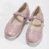 Dívčí růžové baleríny se cvočky mini-b, růžová, 321-5615 - 16