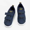 Dětské modré tenisky na suché zipy adidas, modrá, 101-9129 - 16