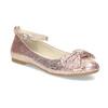 Růžové baleríny s velkou mašlí mini-b, růžová, 329-5227 - 13