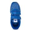 Modré dětské tenisky na suché zipy adidas, modrá, 309-9148 - 17