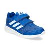 Modré dětské tenisky na suché zipy adidas, modrá, 309-9148 - 13