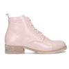 Dámská kotníčková obuv šněrovací ten-points, růžová, 526-5041 - 19