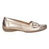 Kožené zlaté mokasíny šíře G gabor, zlatá, 526-8032 - 26
