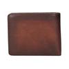 Pánská kožená Ombré peněženka bata, hnědá, 944-3193 - 16