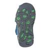 Dětské modré kožené sandály bubblegummers, modrá, 166-9602 - 17