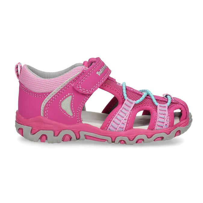 Růžové dětské sandály bubblegummers, 161-5609 - 19