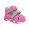 Dětské kožené sandály růžové bubblegummers, růžová, 163-5602 - 13