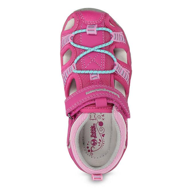 Růžové dětské sandály bubblegummers, 161-5609 - 17