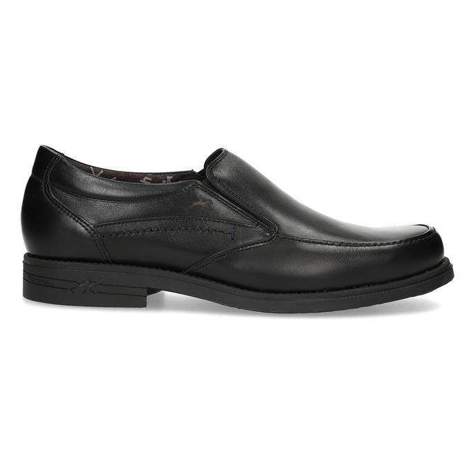 Kožené pánské Loafers fluchos, černá, 814-6600 - 19