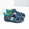 Dětské sandály na suchý zip bubblegummers, modrá, 161-9609 - 26