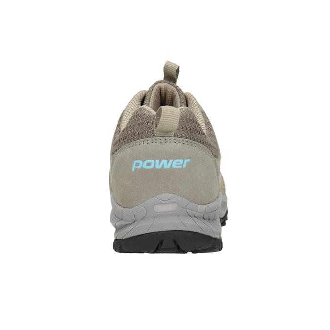 Kožená obuv v outdoor stylu power, béžová, 503-3848 - 16