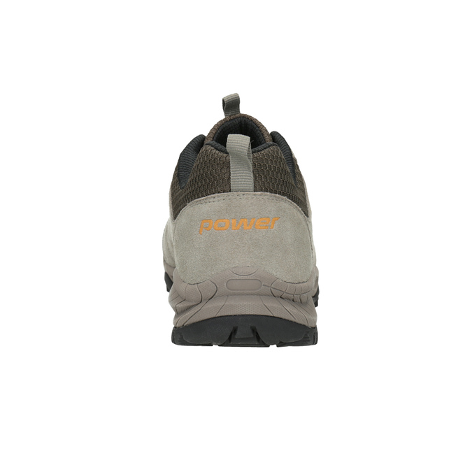 Kožená obuv v outdoor stylu power, hnědá, 803-3848 - 16