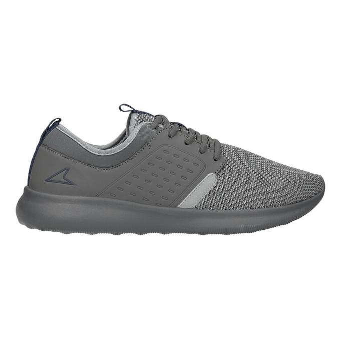 Pánské šedé tenisky ve sportovním stylu power, šedá, 809-2854 - 26
